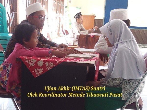 IMTAS Santri Oleh Koordinator Pusat Metode Tilawati