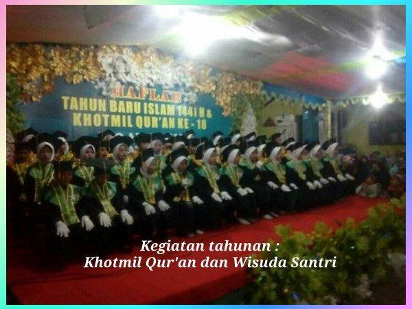 Khotmil Qur'an dan Wisuda Santri