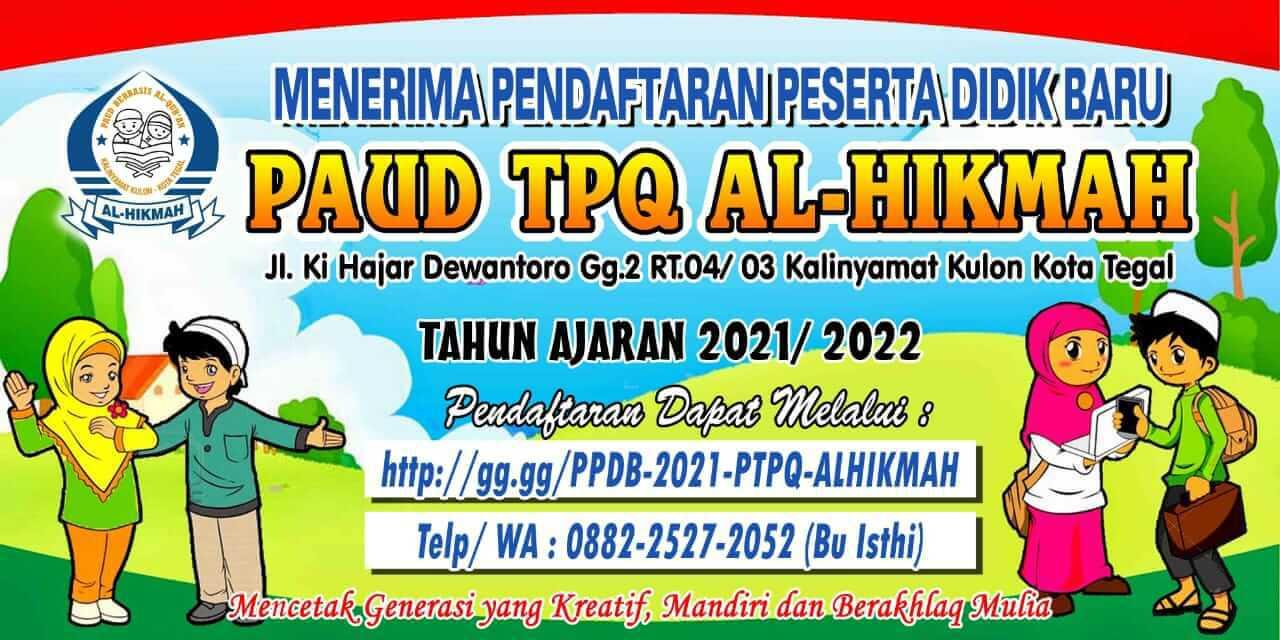PPDB Paud Al Hikmah