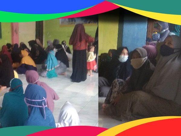 Penerimaan Rapor TPQ Al Hikmah dan Pembinaan Kepala TPQ